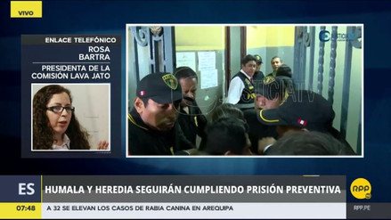 La comisión Lava Jato estima interrogar a Ollanta Humala en quincena de septiembre