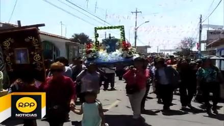 Piuranos también realizan festividad a la Cruz de Motupe