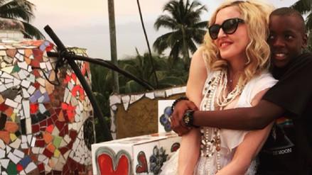 Instagram: Hijo de Madonna canta 'La Gozadera' en español
