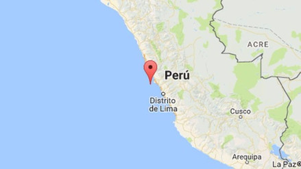 Un sismo de 4,1 grados se registró la tarde de este domingo en Lima