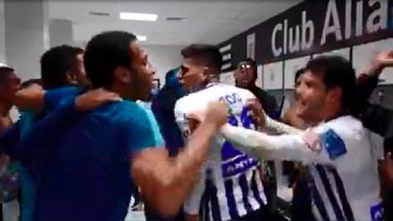 Video | Así celebraron los jugadores de Alianza Lima en el camerino la victoria ante San Martín