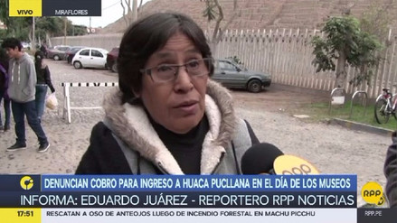 Denuncian cobro de boletos para ingresar a la Huaca Pucllana