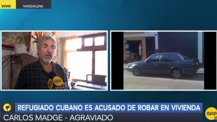 Un refugiado cubano fue acusado de robar en vivienda de Magdalena