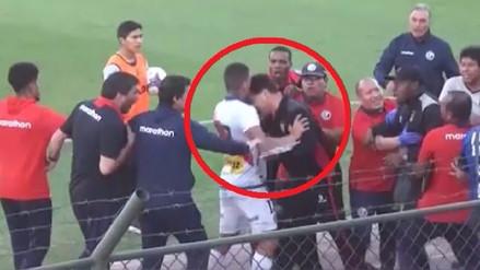 Video | Así fue la pelea en el partido de Melgar contra Deportivo Municipal