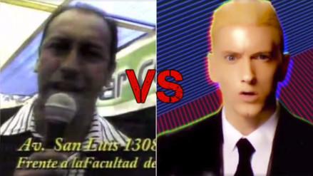 Facebook | Eminem y Marco Antonio de la Teleferia se juntan en vídeo
