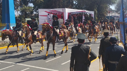 Policía de Chiclayo celebrará el 193 aniversario de La Caballería Peruana
