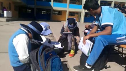 Escolares del colegio Garcilaso enseñan matemáticas y lenguaje a menores