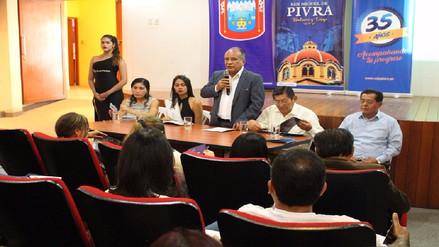 Presentan programa de actividades por el 485 aniversario de Piura