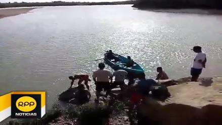 Encuentran cadáver de menor que cayó a las aguas del río Tumbes
