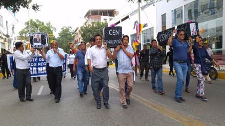 Docentes radicalizarán huelga cerrando colegios de Chulucanas