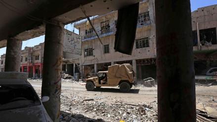 ISIS tenía en Mosul una fábrica con agentes químicos