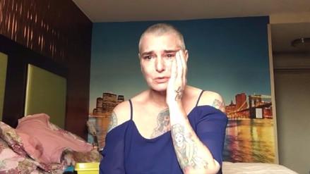Sinéad O'Connor admite en Facebook que tiene pensamientos suicidas