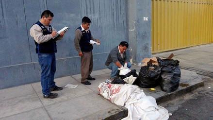 En Chiclayo multan a vecinos que no acatan horario de recojo de basura