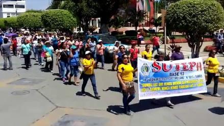 Maestros desconocen al Sutep Tumbes y se unen a huelga indefinida