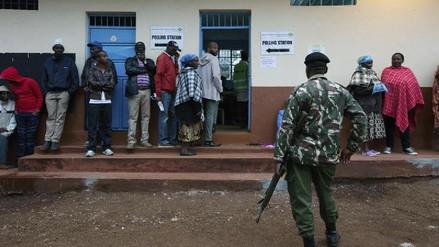 Kenia celebra sus elecciones en alerta máxima
