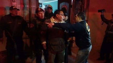 Detienen a ocho personas tras operativo a bar de Juliaca