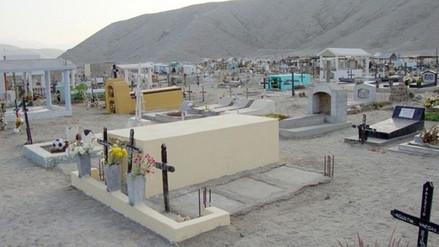 Obrero muere aplastado por techo de mausoleo en cementerio de Casma