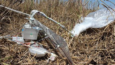 Globo del Proyecto Loon aterrizó en campos de Olmos