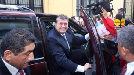 Alan García volvió a pedir una entrevista con la comisión Lava Jato