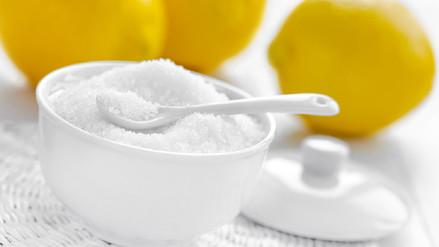 El ácido cítrico no debe reemplazar al limón