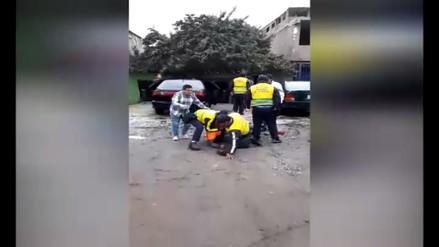 Conductor de combi arriesgó la vida de pasajeros tras huir de inspectores