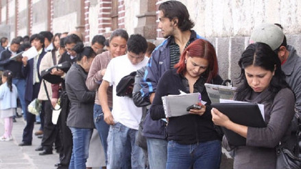Jóvenes son los que más buscan trabajo en Lambayeque