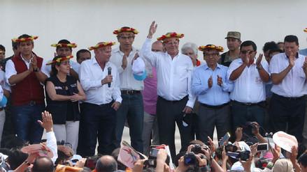 Presidente Kuczynski inauguró feria Expoamazónica en Tarapoto