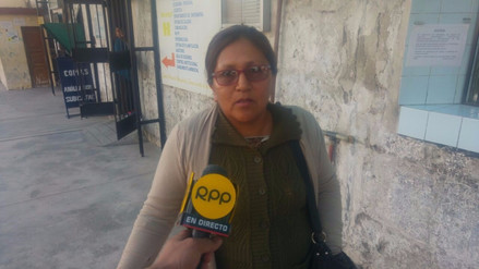 Aparece madre biológica de niña maltratada en Arequipa