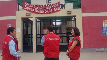 Personal de Contraloría sigue visitando centros educativos lambayecanos