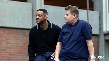 YouTube | Will Smith se subió al Carpool Karaoke de James Corden