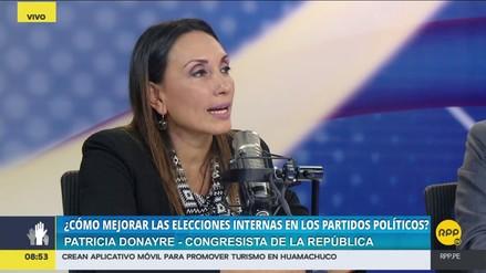 """Patricia Donayre: """"El financiamiento privado debe ser más limitado"""""""