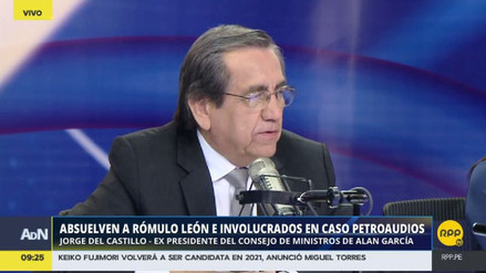"""Del Castillo: """"Investigaron 30 años de mi vida y no encontraron desbalance"""""""
