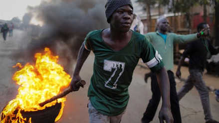 Disturbios en Kenia tras la denuncia de fraude electoral