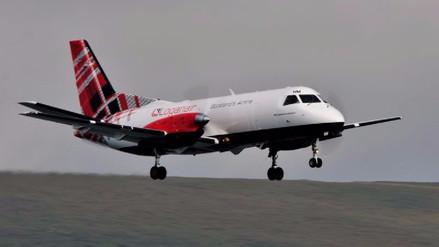Video | Así es el vuelo comercial más corto del mundo