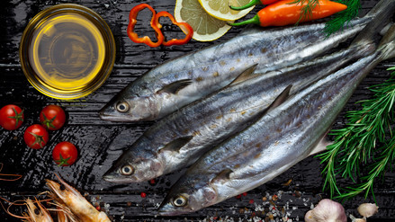 Pescado y mandarina para luchar contra los efectos del frío en la piel