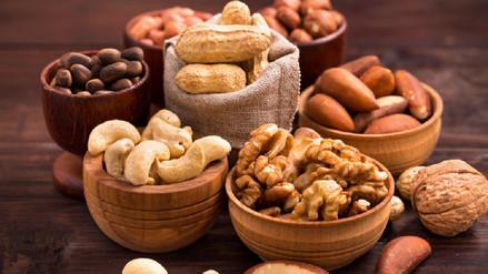 Los frutos secos son altos en calorías, pero no elevarán tu peso