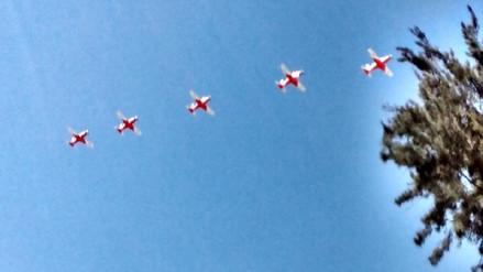 Con exhibición aérea las Fuerzas Armadas rendirán homenaje a Arequipa