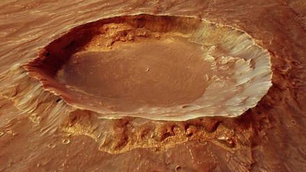 La Mars Express muestra el pasado volcánico de Marte