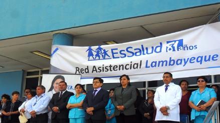 Con jornadas médicas celebran aniversario del Seguro Social en Lambayeque