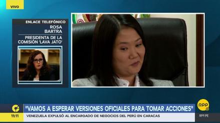 La citación de Keiko Fujimori a la Comisión Lava Jato aún no está decidida