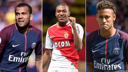 El nuevo once del PSG con Neymar y Kylian Mbappé