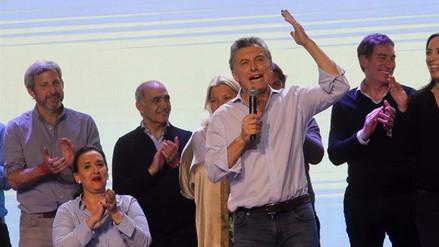 Macri vence en primarias para el Congreso pero empata con Kirchner en Buenos Aires