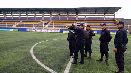 Redoblan seguridad por partido Alianza Lima -Comerciantes Unidos