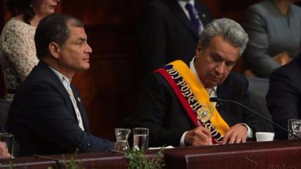 Correa sobre Moreno: