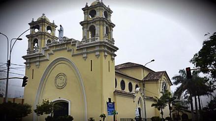 Un incendio afectó la parroquia Nuestra Señora de Fátima en Miraflores