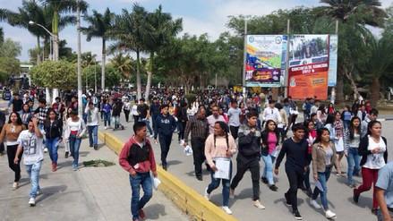 Más de 5 mil postularon por una de las 970 vacantes en UNPRG de Lambayeque