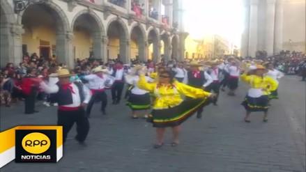 Se realizó Tradicional Entrada de Ccapo por el 477 Aniversario de Arequipa
