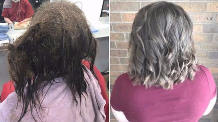 Facebook | Una peluquera se rehusó a afeitarle la cabeza a una menor con depresión