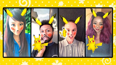 Snapchat | Usuarios se podrán tomar 'selfies' con Pikachu