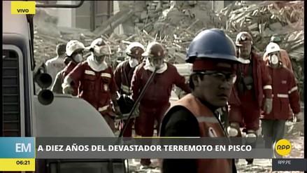 Este es el balance luego de 10 años del terremoto de Pisco